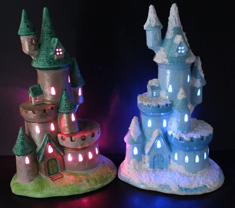 Castle with cut outs