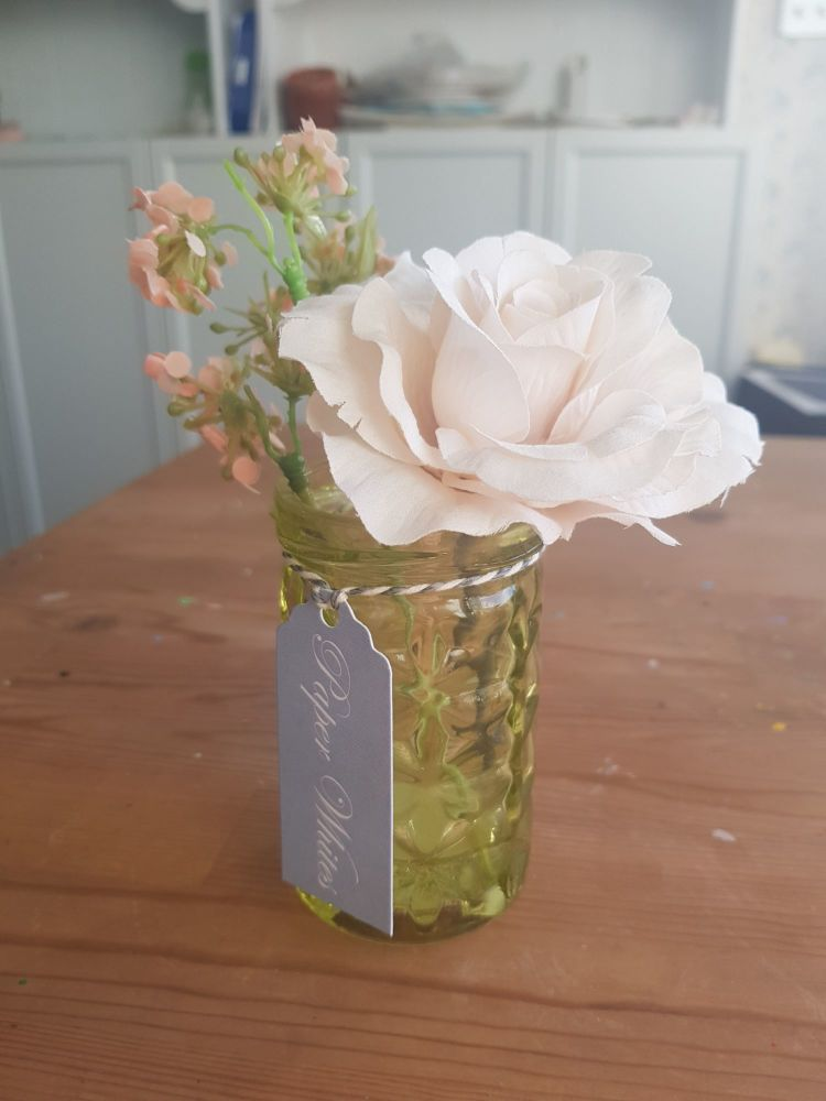 Small pink floral gift
