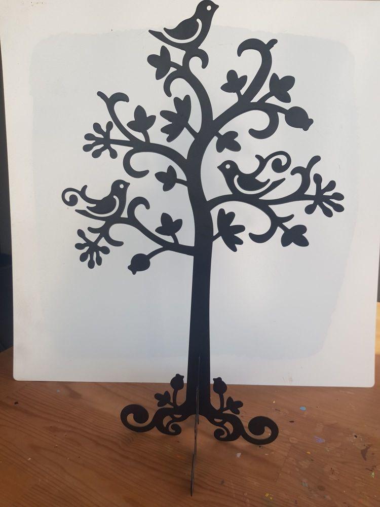 Black jewellery tree