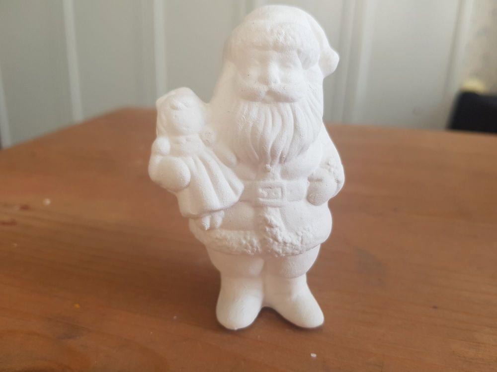 Santa with doll