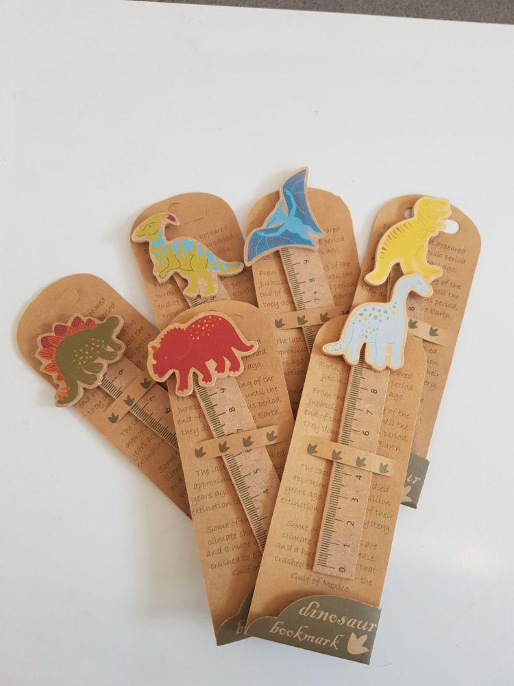 Dinosaur bookmark
