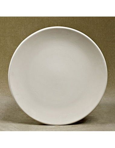 Large round coupe platter