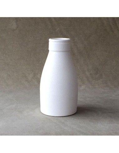 Medium milk bottle vase