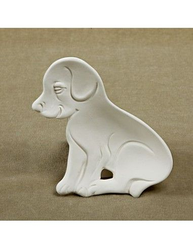 Puppy dog shaped plate