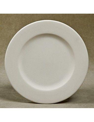 Rimmed salad (side) plate