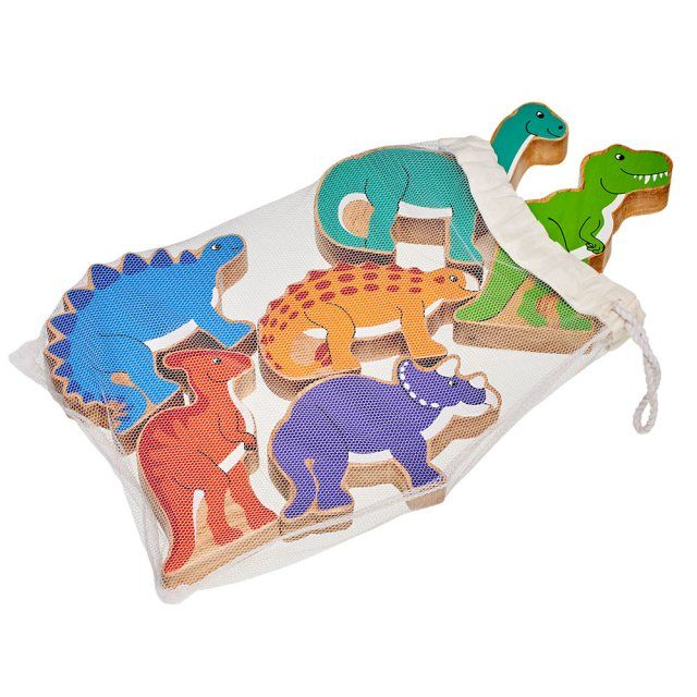 Bag of 6 dinosaurs