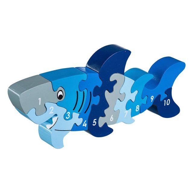 Shark 1-10 jigsaw
