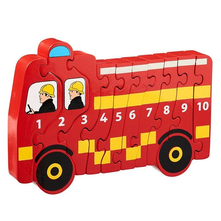 Fire engine jigsaw