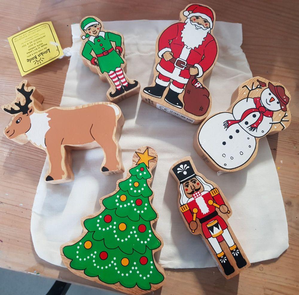 Bag of Christmas toys