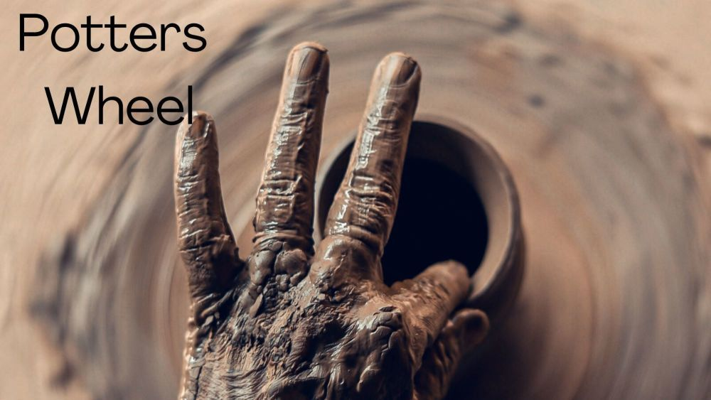 Potters wheel taster session for 1 or 2 people