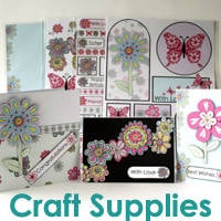Papercraft + Card making supplies