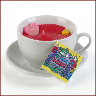 Mulberry Storm Teacup Candle