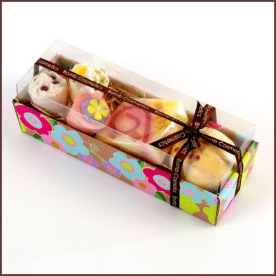 Hawaiian Flower Bath Gift Set