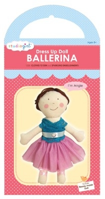 Ballerina dress up doll