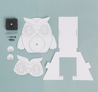 DIY Owl clock kit