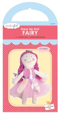 Fairy dress up doll