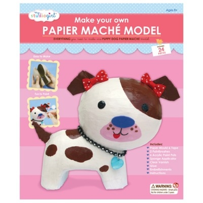Paper mache dog kit