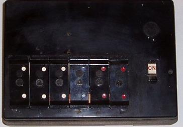Old-fuse-board