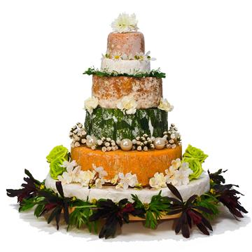 cheese wedding cake yorkshire dales york catering 12628