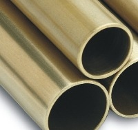 Unpolished Brass Tube