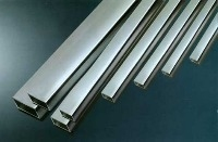 Chrome Plated Square Section Brass Tube