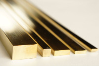Polished Flat Brass Strip/Bar