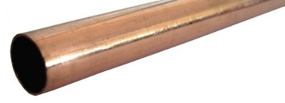 15mm x 500mm Copper Tube