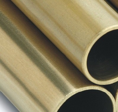 10mm x 1500mm Unpolished Brass Tube
