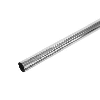 10mm x 500mm Soft Copper Tube Chrome Plated