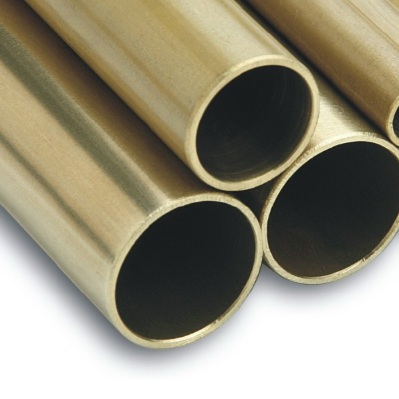 10mm x 750mm Unpolished Brass Tube
