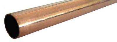 15mm x 750mm Copper Tube