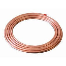 10mm x 1500mm Soft Copper Tube