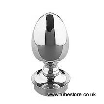38mm Chrome Acorn Finial