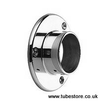 <!-- 002 --> 38mm Chrome Floor/Wall Flange