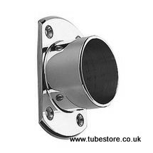 <!-- 003 --> 38mm Chrome Narrow Floor/Wall Flange