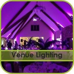 Venue Lighting Hire Gloucestershire