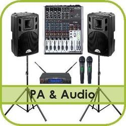 PA and Audio Hire Gloucestershire