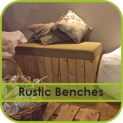 Rustic Bench Seats