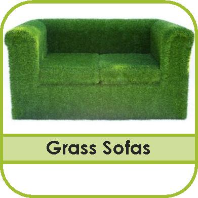 Artificial Grass Furniture
