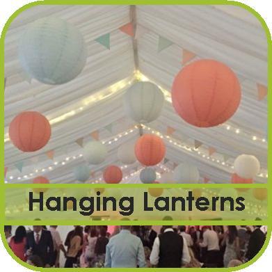 Hanging Lantern Hire Gloucestershire