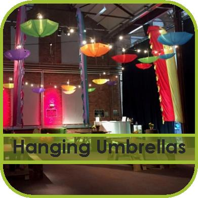 Hanging Umbrella Hire Gloucestershire