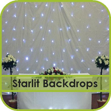 Starlit Backdrop Hire
