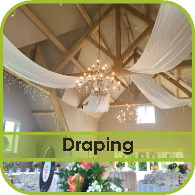 Venue Draping Hire Gloucestershire