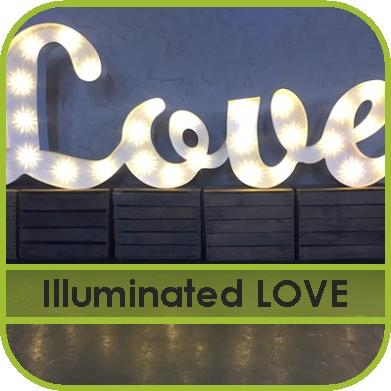 Illuminated Love Letter Hire