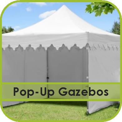 Pop Up Gazebo Hire