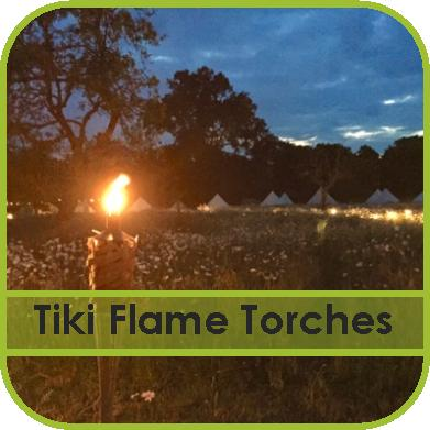 Tiki Flame Torch Hire