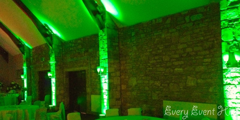 Green Venue Lighting Gloucestershire