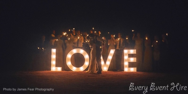 James Fear Photography LOVE Letters at Elmore Court