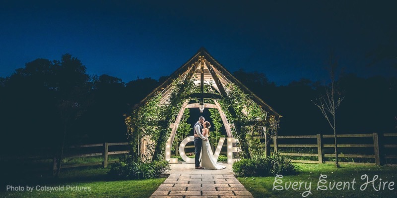 LOVE Letters at Hyde Barn by Cotswold Pictures