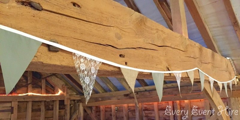 Wedding and Event Bunting Hire Gloucestershire